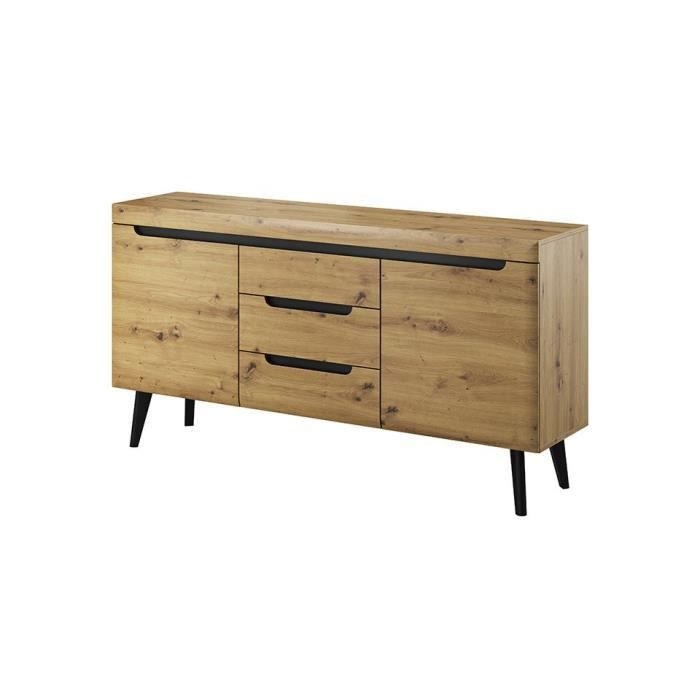 Commode NORDY 160 cm - bois