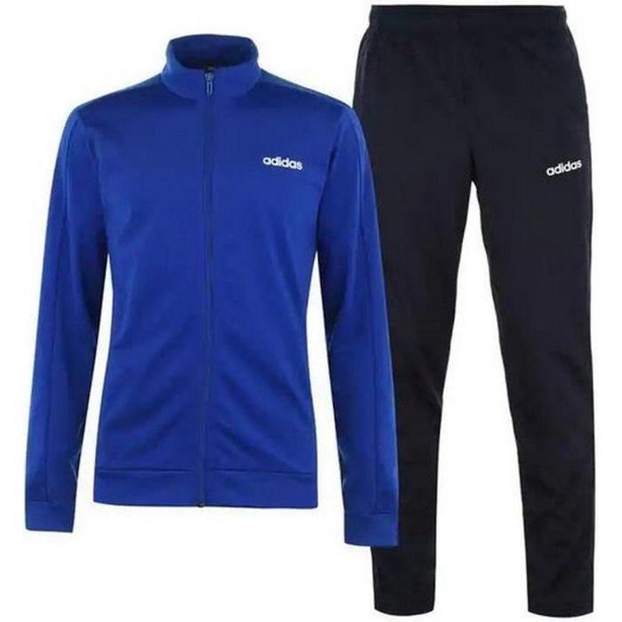 Jogging Adidas Homme Noir et Bleu