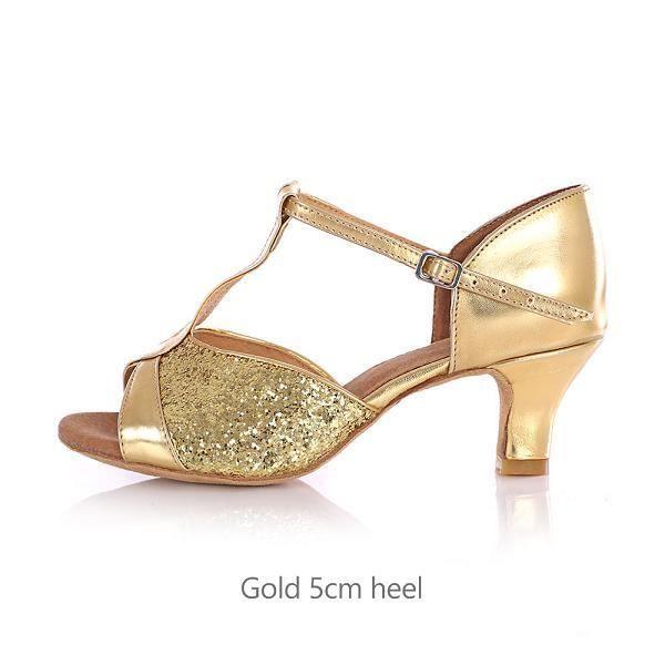 Chaussures de danse,Chaussures de danse latine de salon pour les femmes à talons Salsa Tango chaussures de danse à talons hauts 5