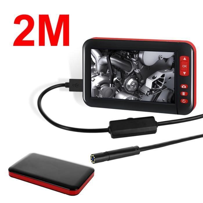 2M Écran couleur HD 1080P Digital Endoscope Caméra d'inspection Photo Vidéo étanche