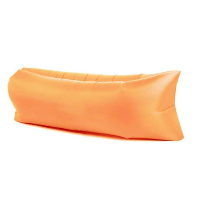 Design ergonomique orange Lit sac de couchage de Camping portatif en plein air