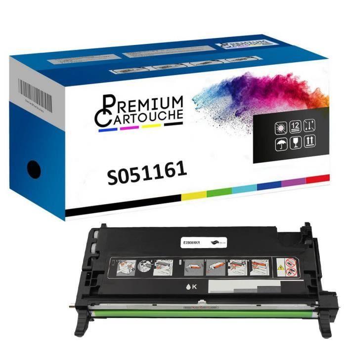 Toner C13S051161 Noir Compatible pour Epson Aculaser C 2800 Epson Aculaser C 2800 DN Epson Aculaser C 2800 DTN Epson Aculaser C 2800