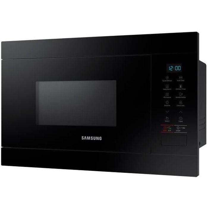 Samsung MS22M8054AK Four micro-ondes monofonction intégrable 22 litres 850 Watt noir