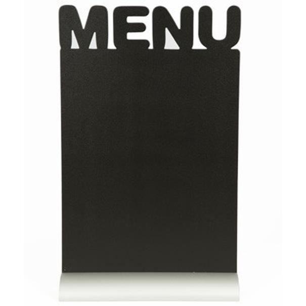 Silhouette de table avec socle aluminium MENU
