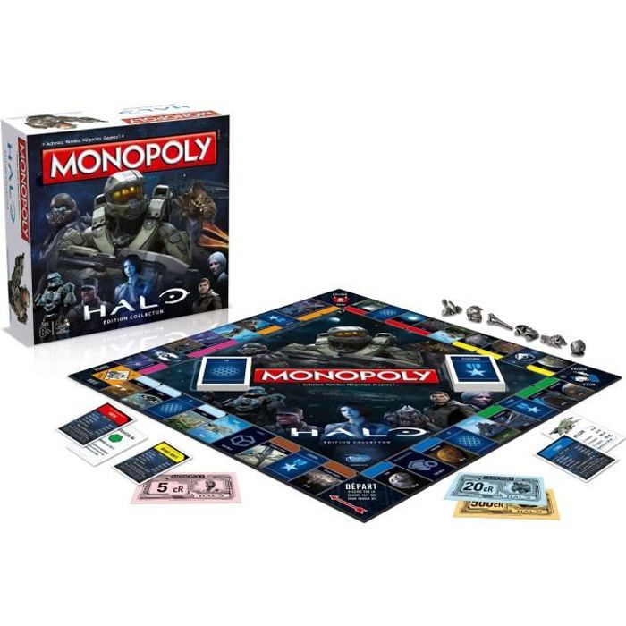 HALO Monopoly - Version Française