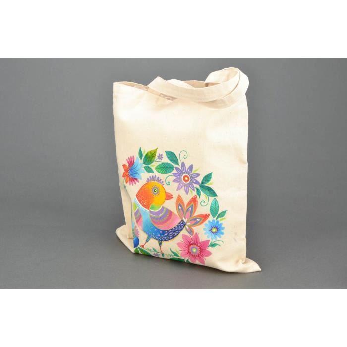 unisexe 02012215 canevas couleur:Bleu fonc/é sac en tissu sac sac /à main styleBREAKER sac de course avec paillettes en forme dananas
