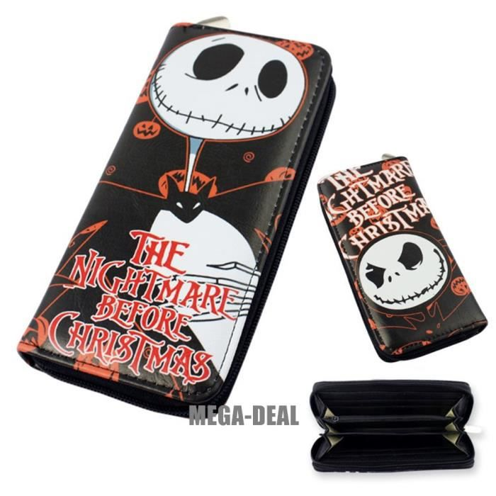 Sonstige Nightmare Before Christmas Jack Skellington Portemonnaie Kindermode, Schuhe & Access.