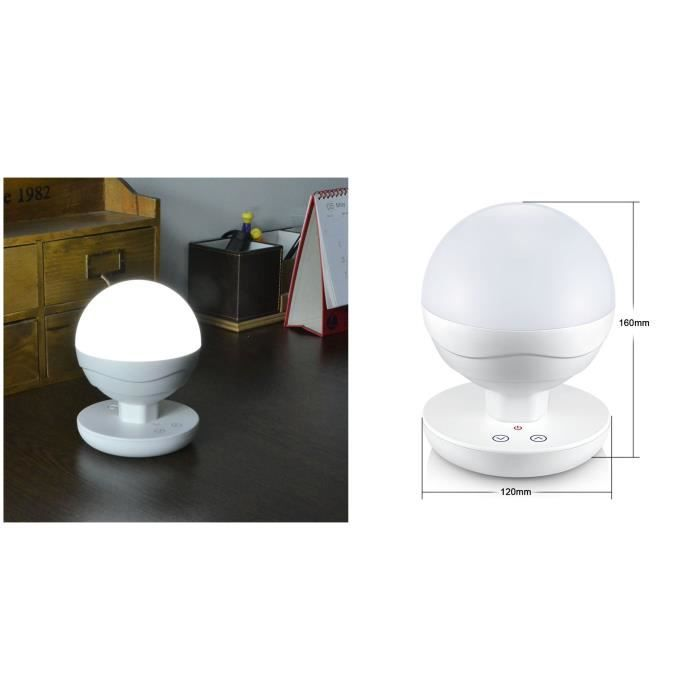 Lampe de chevet portables led tactile intensit variable pour enfant veilleuse liseuse for Lampe de chevet tactile enfant
