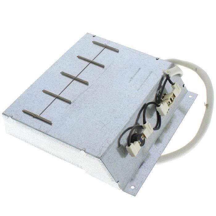 PIÈCE LAVAGE-SÉCHAGE  Resistance 2100w + thermostats pour Seche-linge Ro