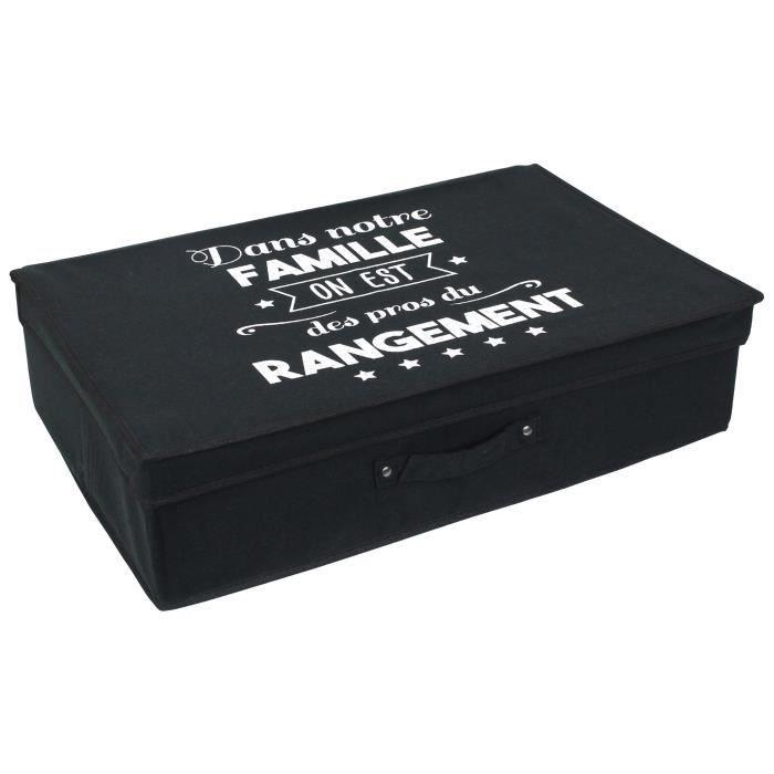 BOITE DE RANGEMENT Boite de rangement cartonnée avec couvercle 25L no