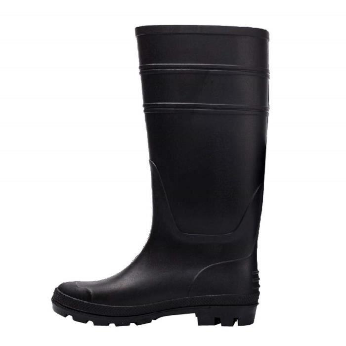 Bottes de Pluie pour Homme, Chaussure de Jardinage Waterproof Unisexe  Imperméables Boots Chaussures de Sports Aquatiques Homme 38,47