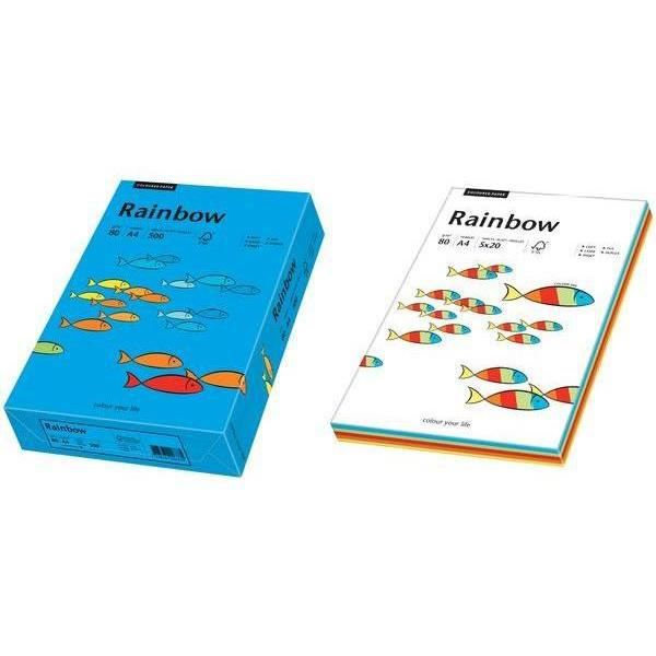 """PAPIER IMPRIMANTE papier universel """"Rainbow"""", A4, vert intense, 80g,"""
