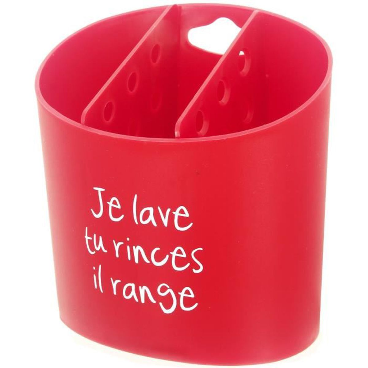 RANGE COUVERTS Range Couverts à Suspendre Design Humour 3 Compart