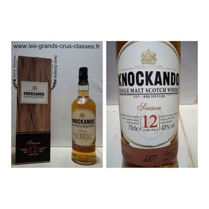 WHISKY BOURBON SCOTCH Knockando - Whisky 12 ans - Single Malt - 43% seas