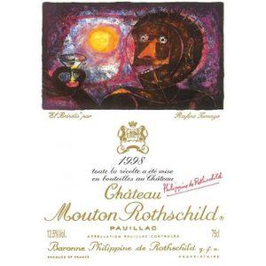 VIN ROUGE Château Mouton Rothschild 1998 - Vin Rouge