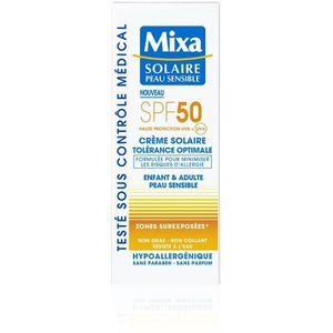 SOLAIRE CORPS VISAGE Mixa Solaire Peau Sensible - Crème Solaire Toléran