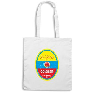 c3dd0dcfddebd8 Sac shopping WC0657 World Cup Football - Colombia Blanc - Achat ...