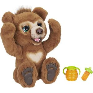 PELUCHE FurReal Friends - Cubby L'ours curieux - Peluche I