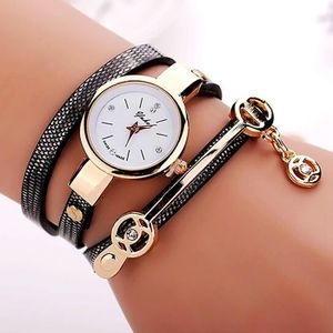 MONTRE Summer Style Fashion Cuir Casual Montre-bracelet M