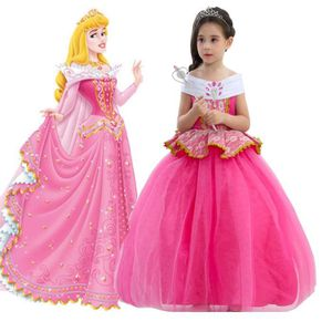 DÉGUISEMENT - PANOPLIE Robe de princesse Ai Luo pour enfants+ Couronne+ B