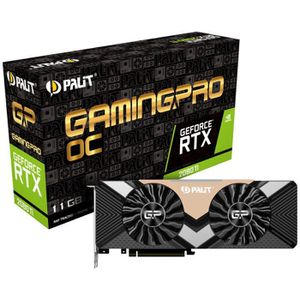 CARTE GRAPHIQUE INTERNE Palit GeForce RTX 2080 Ti Gaming Pro OC, 11264 MB