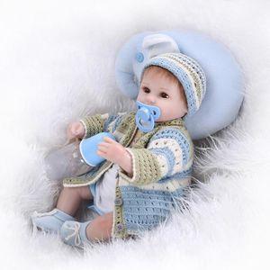 POUPÉE Simulation 55CM bébé reborn poupon poupée