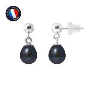 Boucle d'oreille Boucles d'Oreilles  - Perle de Culture d'Eau Douce