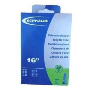 PNEU - CHAMBRE À AIR Chambre à air Schwalbe CH 16x1.75-2.50 valve Prest