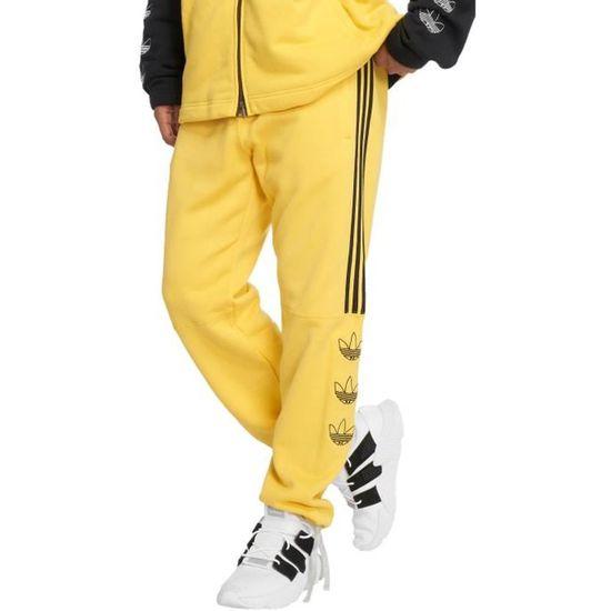 sur de soi authentique jogging adidas jaune fcf91