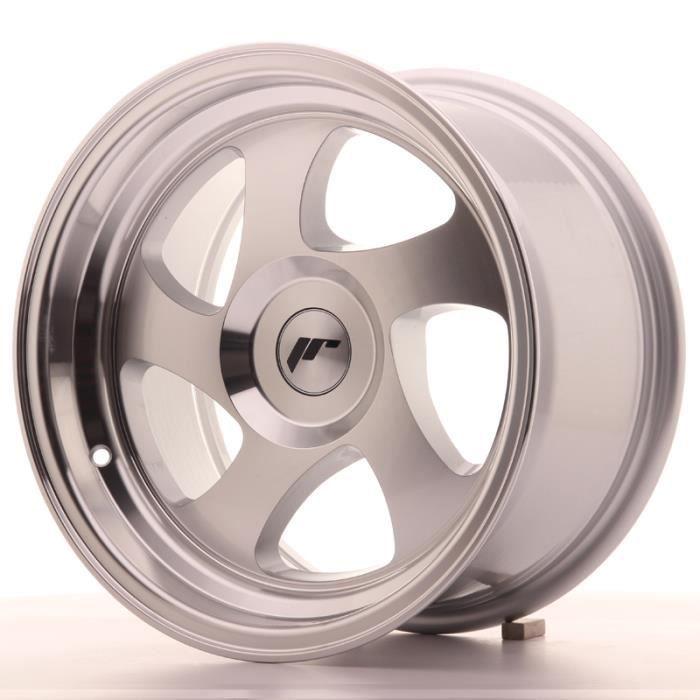 Jante Alu 15- Japan Racing JR15 15x8 ET20 Blank Machined Silver