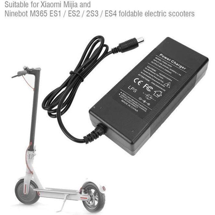 Chargeur de batterie adaptateur de Trottinette scooter électrique 42V 2A pour Xiaomi 220V (prise UE)