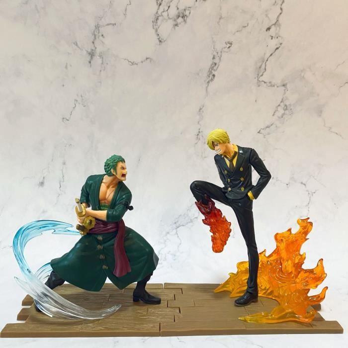 Anime One Piece Trois Mille Monde Zoro Sanji Bataille Figure Décoration Luffy Ace Jouet Cadeau D'anniversaire