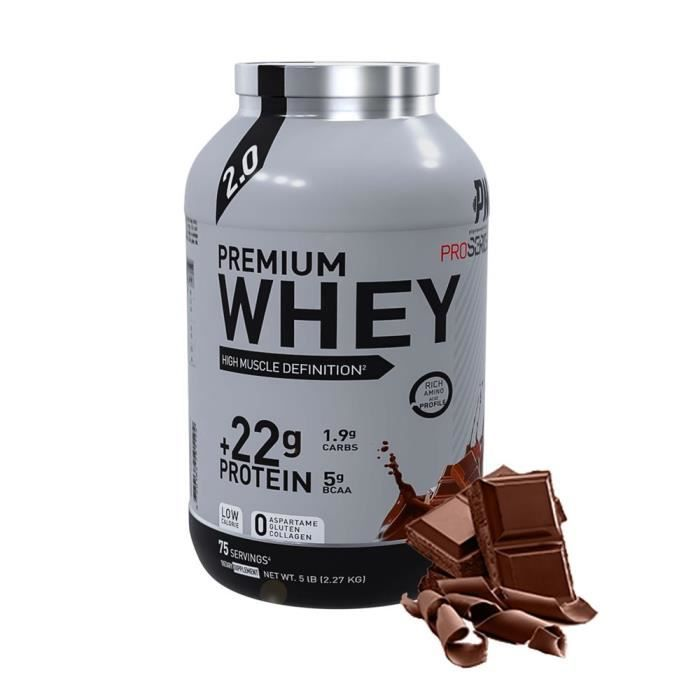 Eric Favre - Premium Whey Pro Series by Eric Favre - Bonnes Affaires - Chocolat - 2,27kg