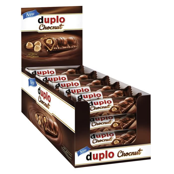 Ferrero Duplo Chocnut Chocolat barres 24 x 26g