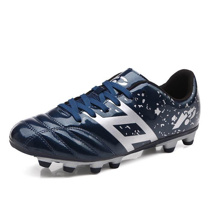 Chaussures de football basses AG pour hommes chaussures à crampons pour enfants Chaussure de Foot Antidérapant pour garçon