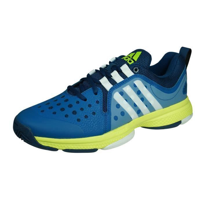 adidas Barricade Classic Bounce Chaussures de Tennis para Hommes Baskets Bleu 6.5