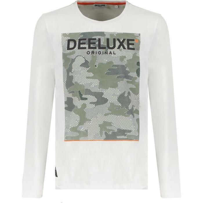 T-shirt garçon Deeluxe Kuroson - blanc - 14 ans