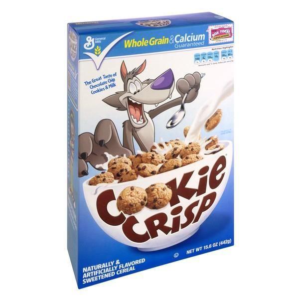 Cookie Crisp Céréales grains avec chocolate