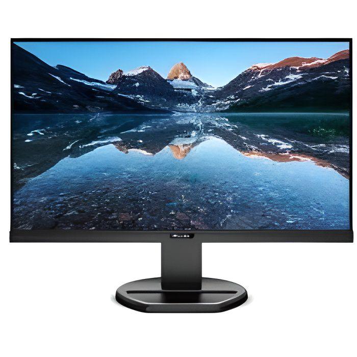 PHILIPSB Line 243B9 - Écran LED - 24- (23.8- visualisable) - HDMI, VGA, DisplayPort, USB-C - Haut-parleurs - Texture noire