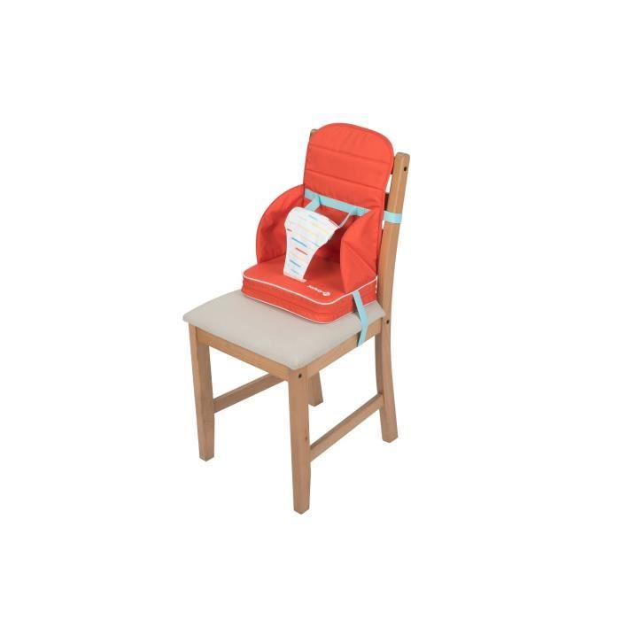 SAFETY 1ST Rehausseur de Chaise Travel Booster Red lines