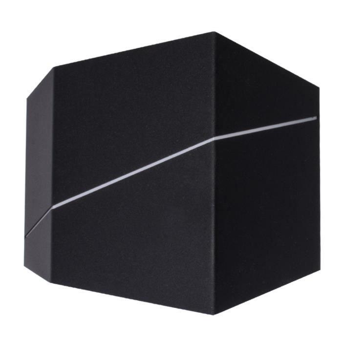 Applique murale à LED, Up & Down, noir, L 18 cm, ZORRO