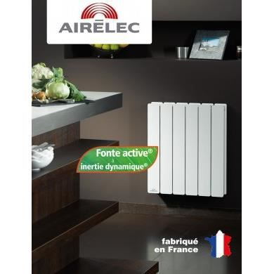 radiateur fonte airelec fontea digital 2500w achat. Black Bedroom Furniture Sets. Home Design Ideas