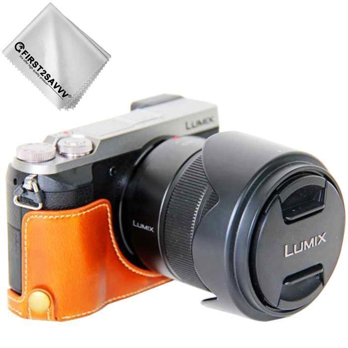COQUE - HOUSSE - ÉTUI PU cuir étui housse appareil photo numérique pour