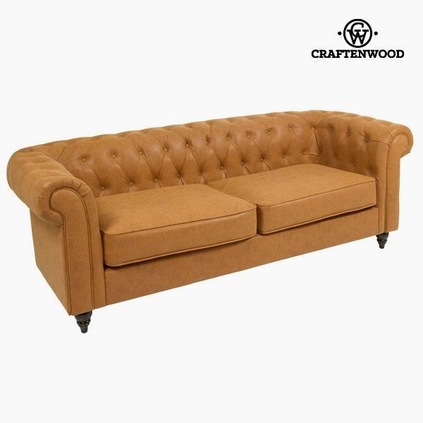 Canap chesterfield 3 places achat vente canap sofa for Canape chesterfield 2 places