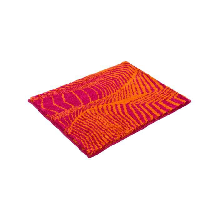 grund tapis de bain karim rashid concept 13 orange 60x100 cm achat vente tapis de bain. Black Bedroom Furniture Sets. Home Design Ideas
