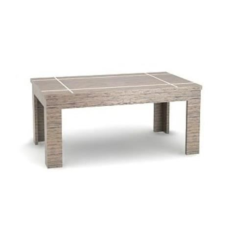 Table basse moderne chene gris achat vente table basse for Table chene moderne