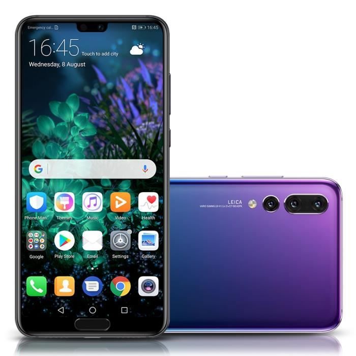 SMARTPHONE HUAWEI P20 Pro Smartphone 6Go+128Go 6.1 Pouces 4G
