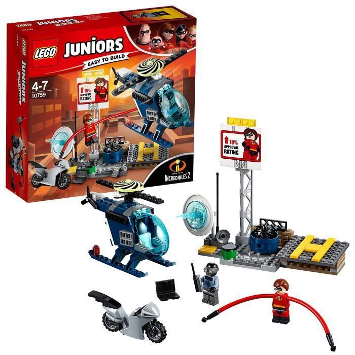 ASSEMBLAGE CONSTRUCTION Lego Building Blocks Pursuit sur le toit Juniors E