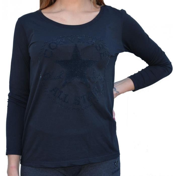 converse tee shirt femme