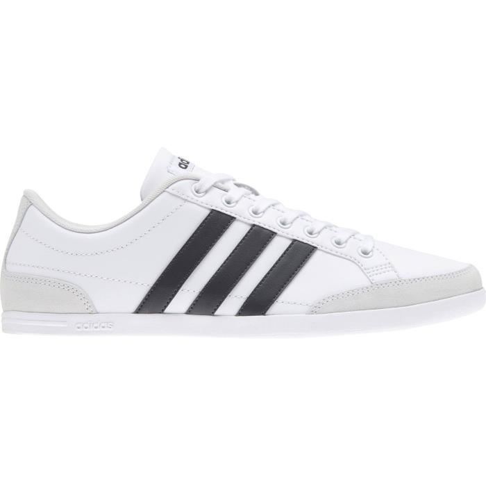 new list low priced save off ADIDAS Baskets Caflaire - Homme - Blanc et noir Blanc - Achat ...